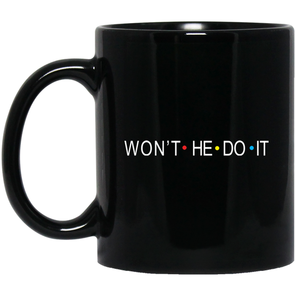 Coffee Mug - Won't He Do It - Truly Devoted Streetwear