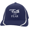 Cap - Faith Over Fear (Striped Lines Flexfit) - Truly Devoted Streetwear