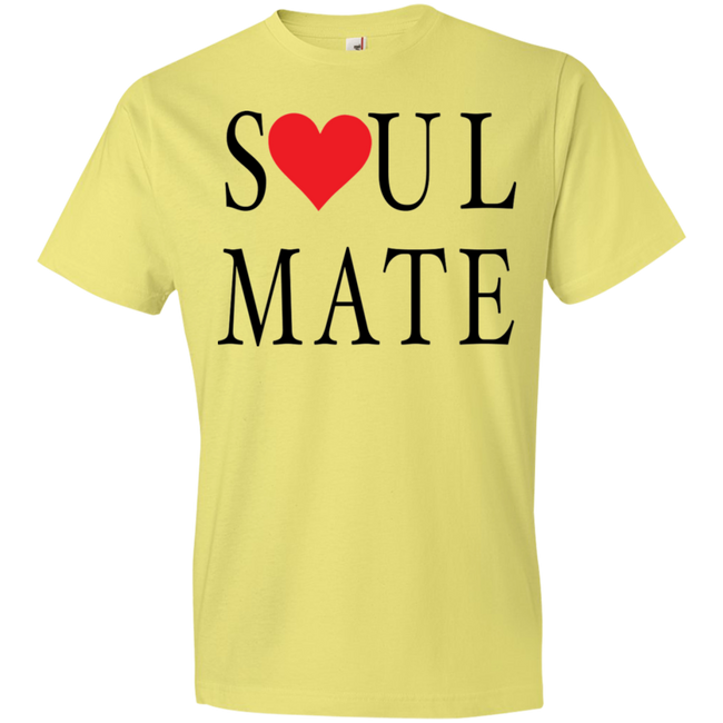 Soul Mate With Red Heart Tshirt - Truly Devoted Streetwear