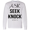 Ask Seek Knock Hoodie & Crewneck - Truly Devoted Streetwear
