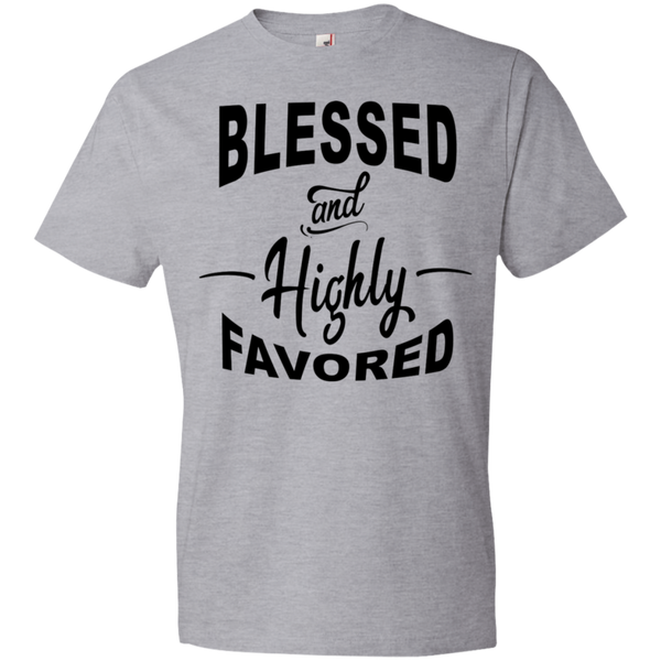 Blessed and Highly Favored Tshirt - Truly Devoted Streetwear