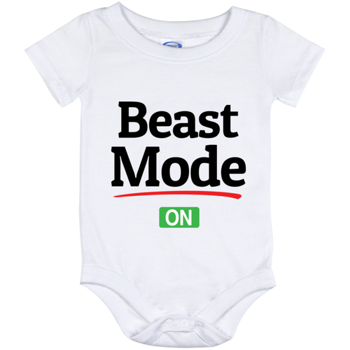 Beast Mode On (Infant) Onesies - Truly Devoted Streetwear