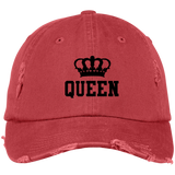 DISTRESSED CAP - Queen Crown - Truly Devoted Streetwear