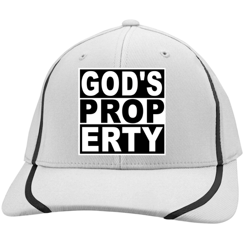 Cap - Gods Property (Stiped Lines Flexfit) - Truly Devoted Streetwear