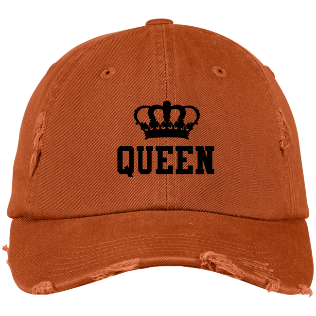 DISTRESSED CAP - Queen Crown