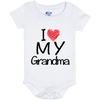 I Love My Grandma - (Infant) Onesie - Truly Devoted Streetwear