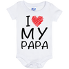 I Love My Papa - (Infant) Onesie