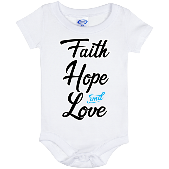 Faith Hope and Love (infant) Onesies