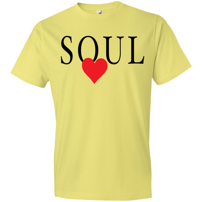 Soul With Red Heart Tshirt - Truly Devoted Streetwear