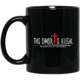 Coffee Mug - Symbol Is Illegal