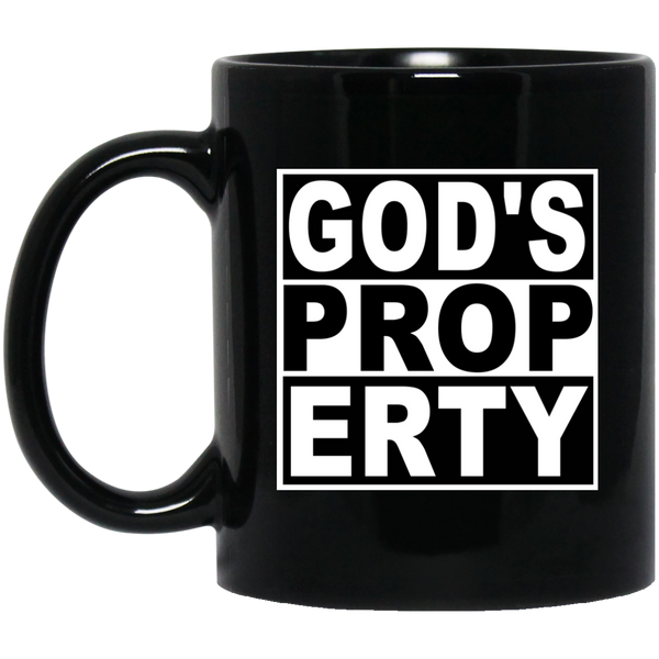 Coffee Mug - Gods Property - Truly Devoted Streetwear