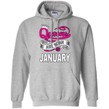 Queens Are Born In January Hoodie & Crewneck - Truly Devoted Streetwear