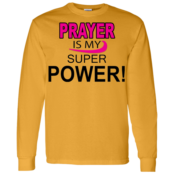Prayer is My Super Power Hoodie & Crewneck - Truly Devoted Streetwear