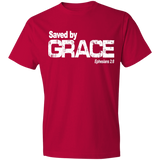 Saved by grace (white text) Eph 2-8 - Truly Devoted Streetwear