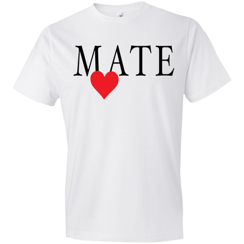 Mate With Red Heart Tshirt