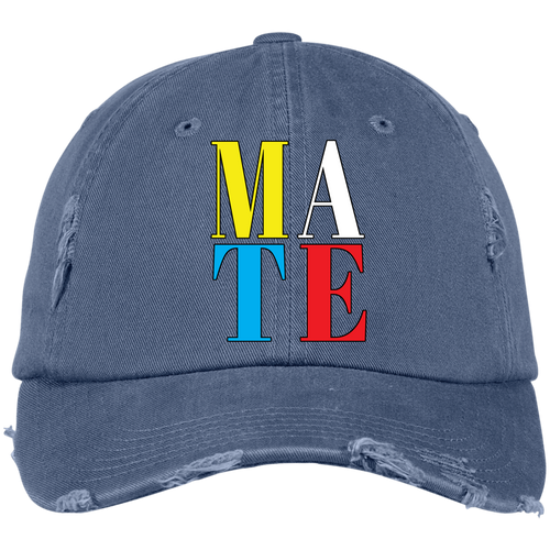 DISTRESSED CAP - MATE