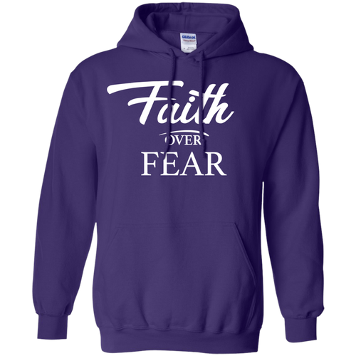 Faith Over Fear Hoodie & Crewneck - Truly Devoted Streetwear