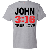 John 3-16 True Love Tshirt - Truly Devoted Streetwear