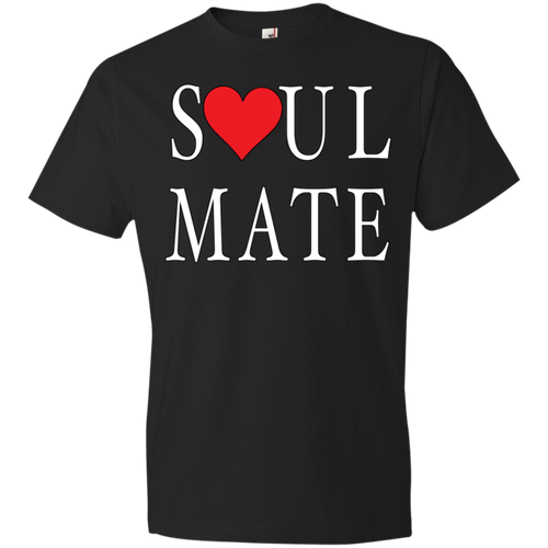 Soul Mate With Red Heart II Tshirt - Truly Devoted Streetwear
