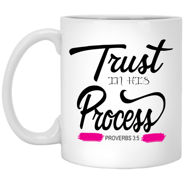 Coffee Mug - Trust In His Process - Truly Devoted Streetwear