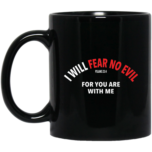 Coffee Mug - I Will Fear No Evil - Truly Devoted Streetwear