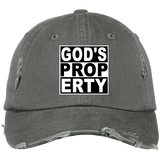 DISTRESSED CAP - Gods Property - Truly Devoted Streetwear