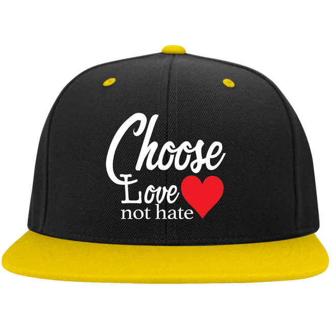Caps - Choose Love Not Hate (Snapback) - Truly Devoted Streetwear