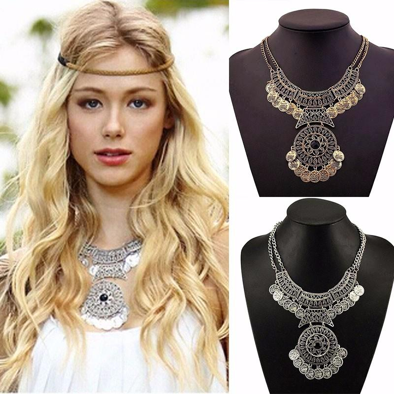 **NEW ARRIVALS** Bohemian Vintage Maxi Necklace