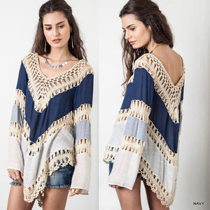 Bikini Cover Up Blouse