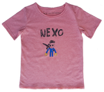 Hero Car Kid's Tee Pink
