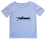 Robo Shark Children's T-Shirt Marle