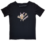 Pikachu Children's T-Shirt Black