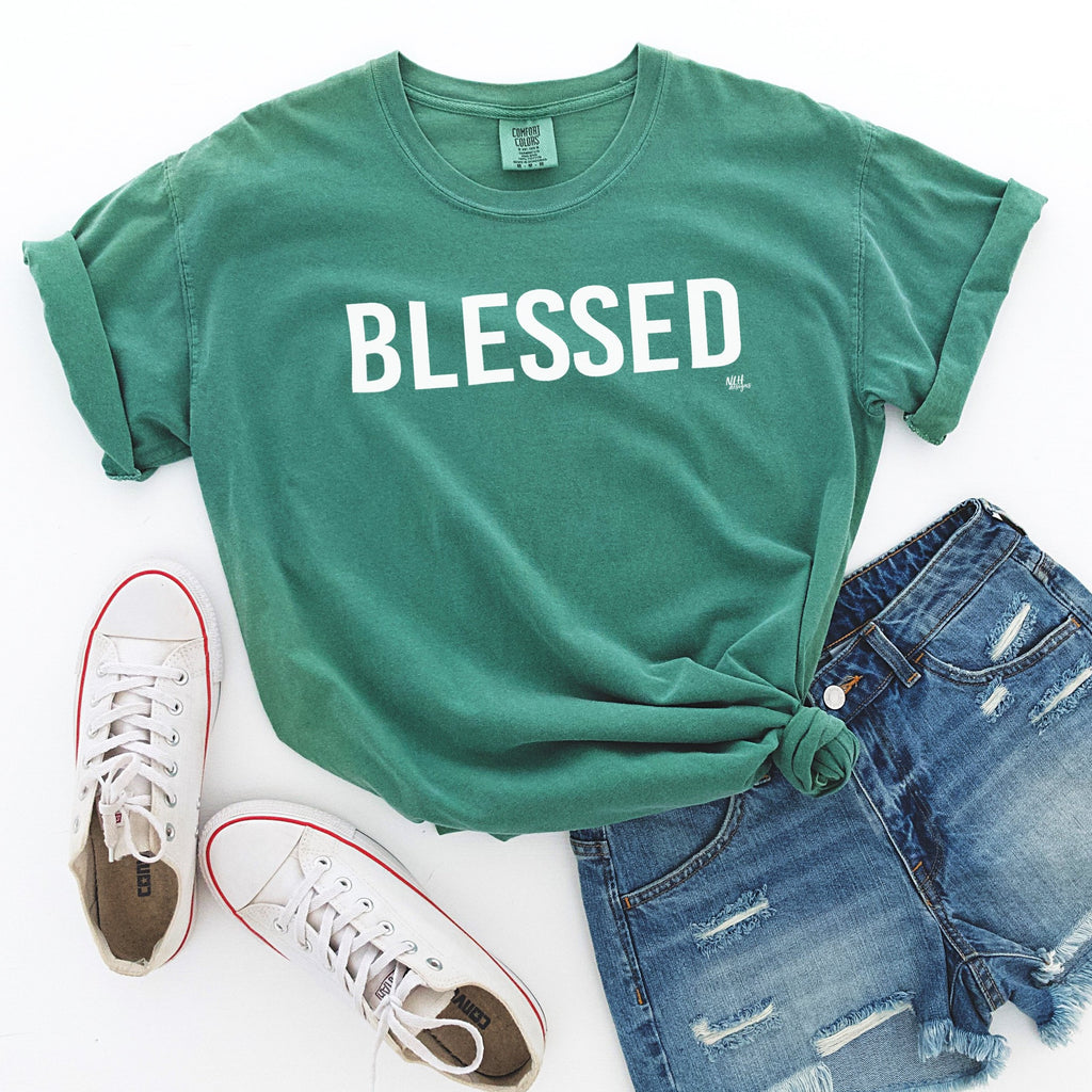 Blessed Comfort Colors Short Sleeve Tee
