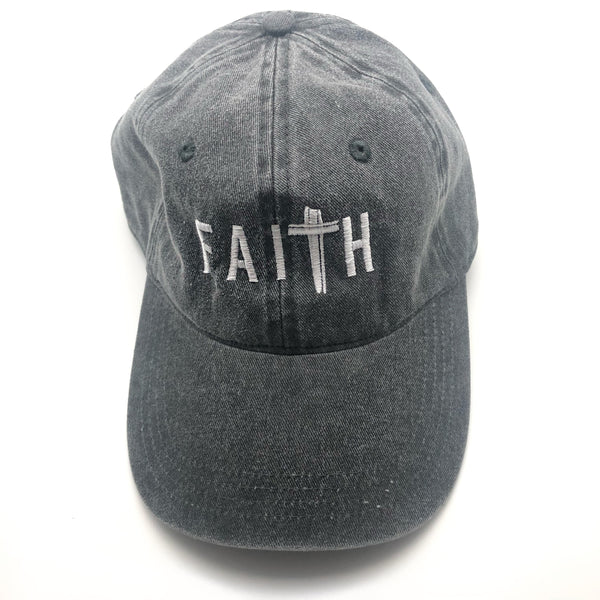 FaiTh Baseball Hat - Gray