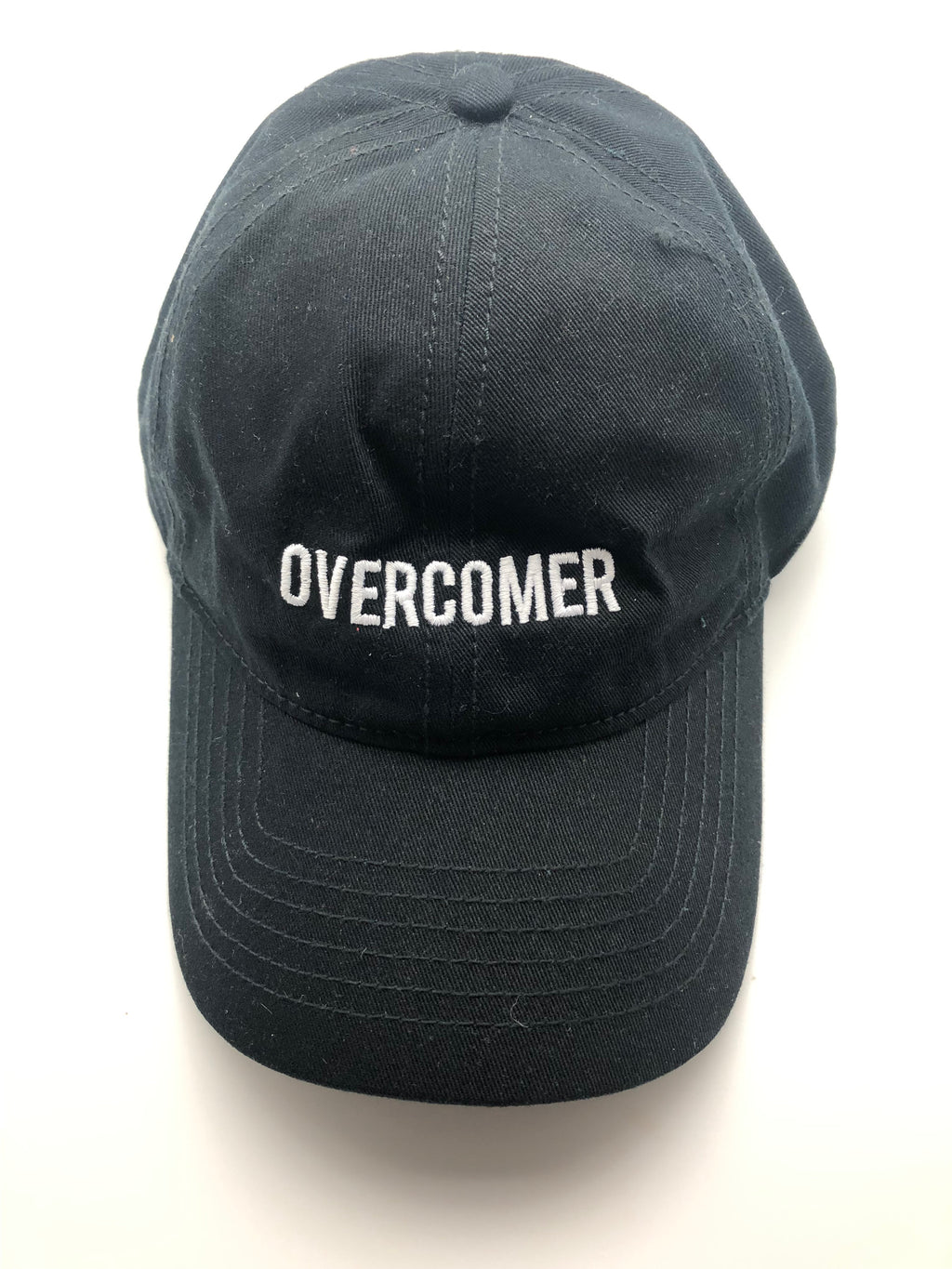 OVERCOMER Baseball Hat - Black