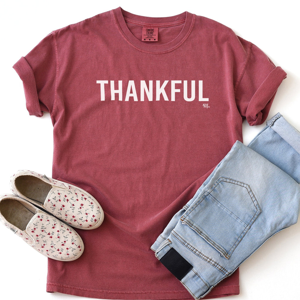 Thankful Comfort Colors Short Sleeve Tee