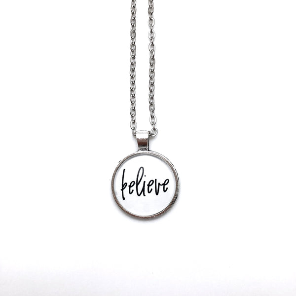 Believe Simply Stated Necklace