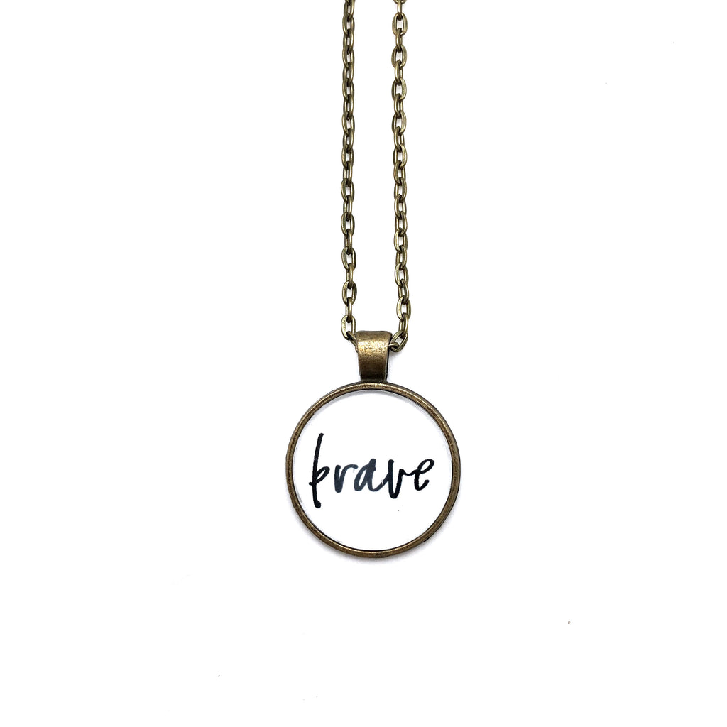 Brave Simply Stated Necklace