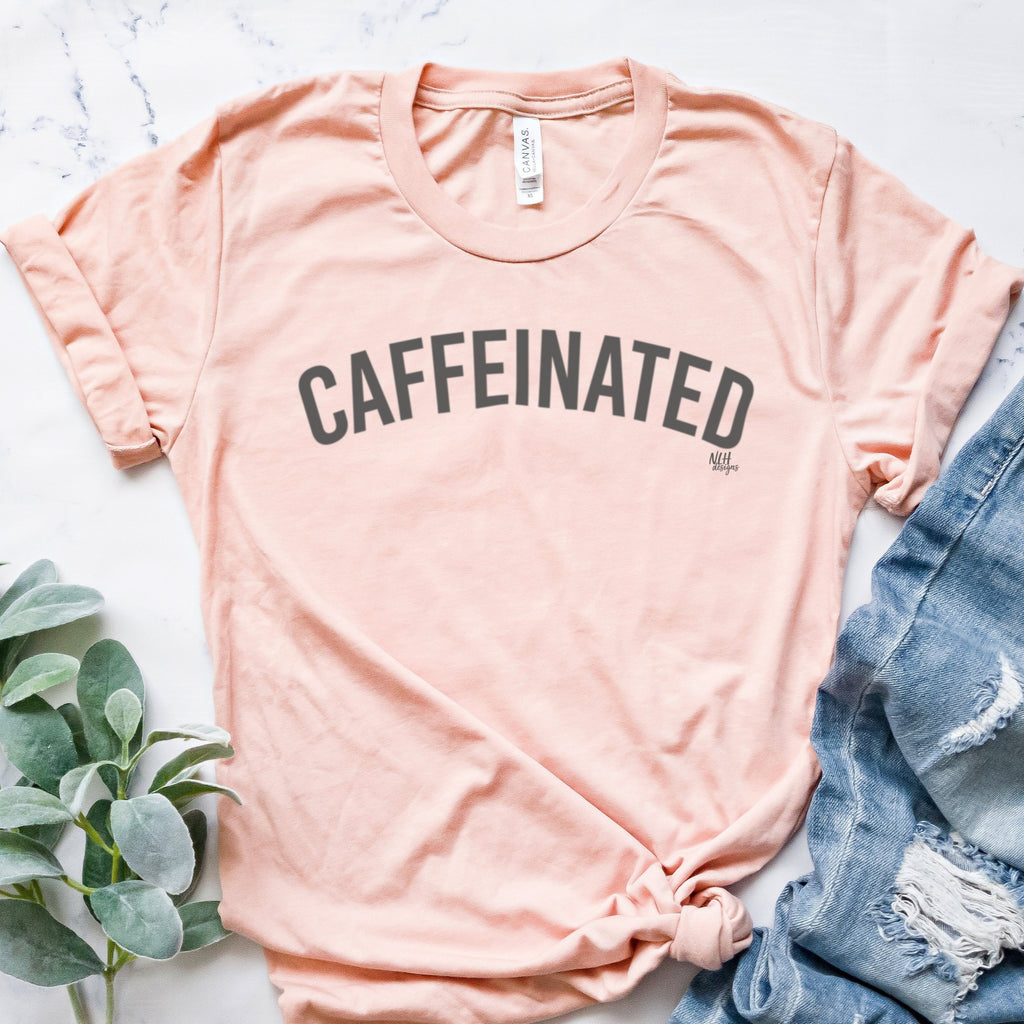 CAFFEINATED Short Sleeve T-Shirt