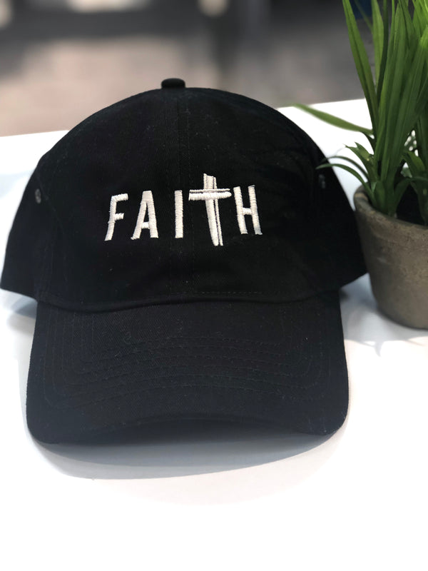 FaiTh Baseball Hat - Black