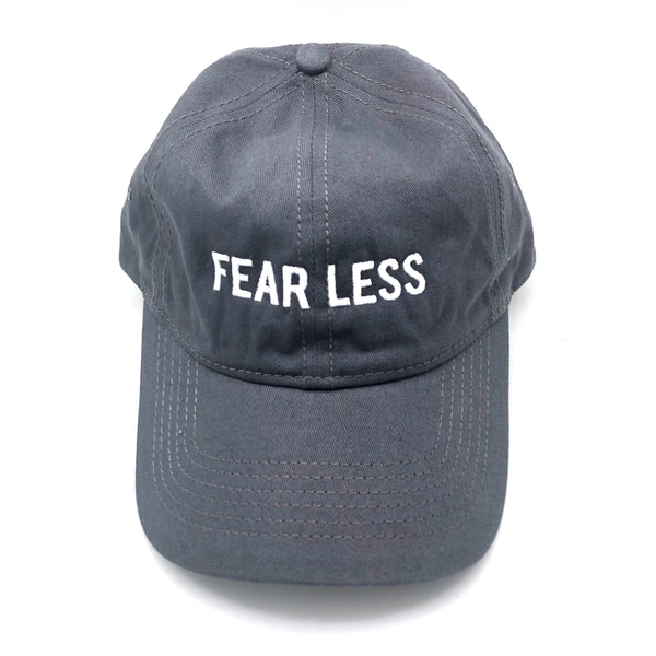 FEARLESS Baseball Hat - Gray