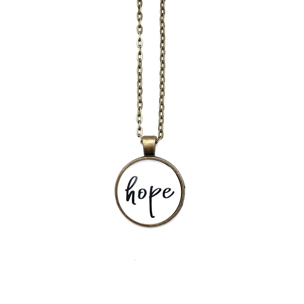 Hope Simply Stated Necklace