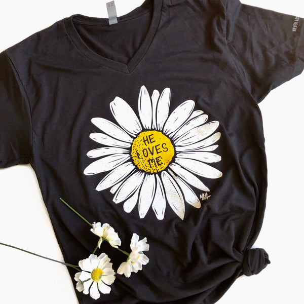 He Loves Me Short Sleeve T-Shirt