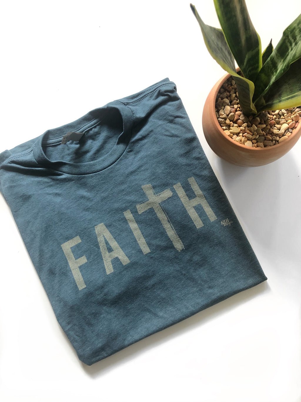 FaiTh Indigo Short Sleeve T-Shirt