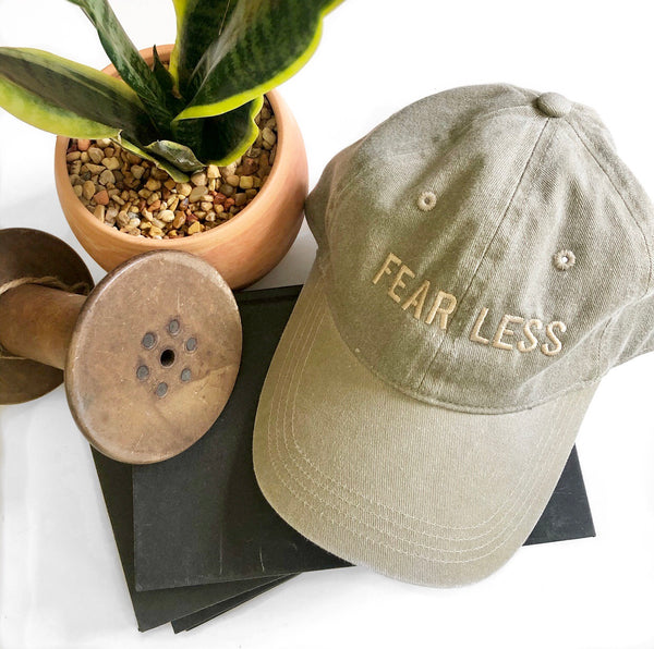 FEARLESS Baseball Hat - Sand