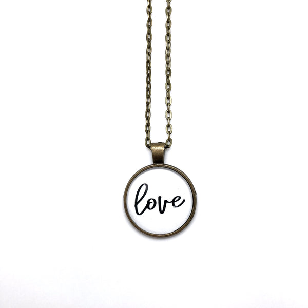 Love Simply Stated Necklace