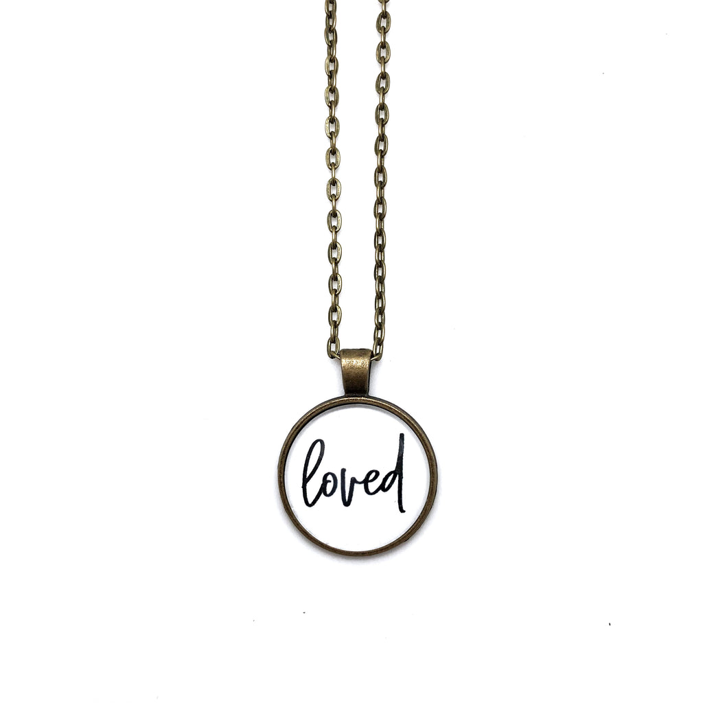 Loved Simply Stated Necklace