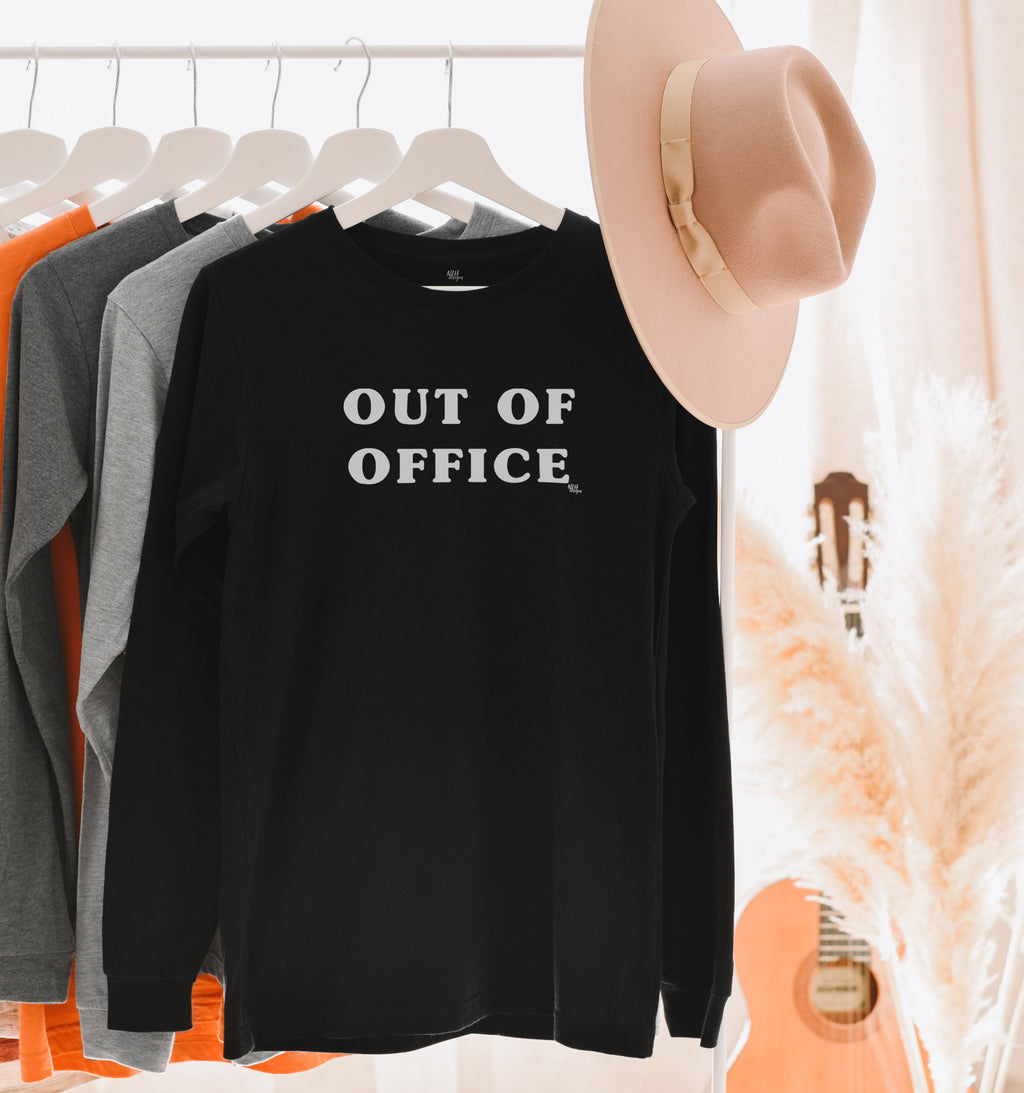 Last Chance - Out Of Office Long Sleeve T-Shirt
