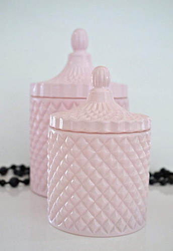 Deluxe Pink Candle 230ml