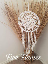 Crochet White Dream Catcher